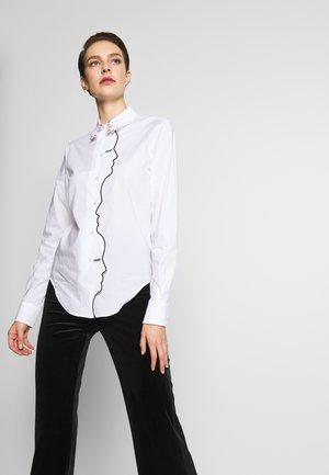 CAMICIA - Skjortebluser - white