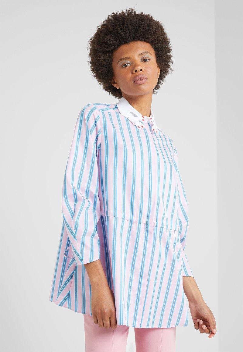 Vivetta - CAMICIA - Button-down blouse - rosa/azzurro