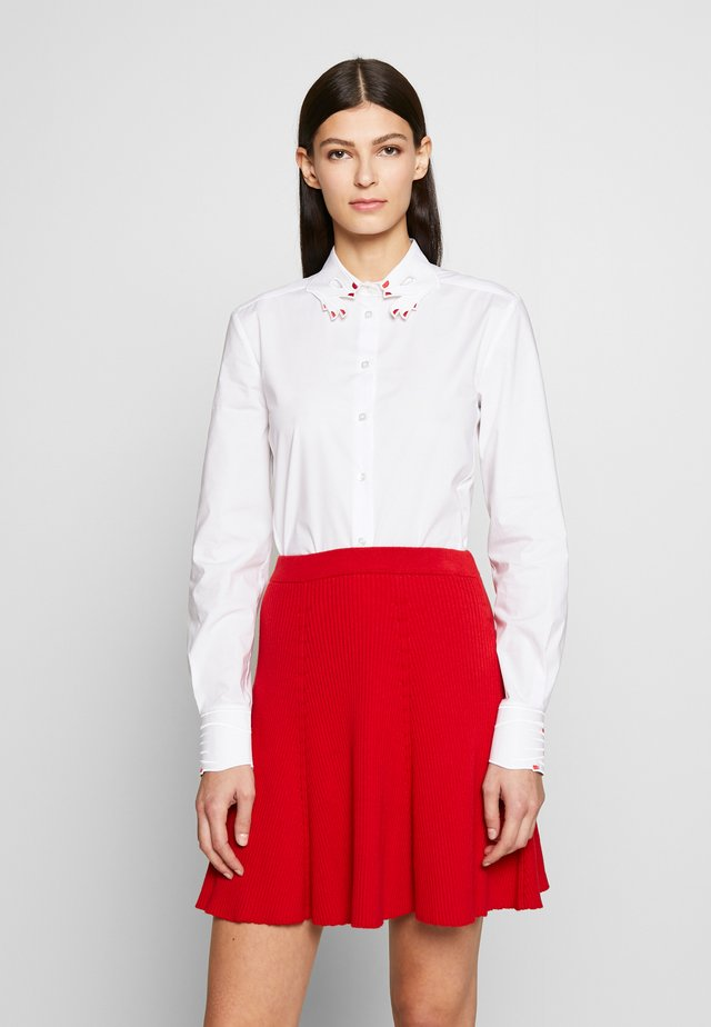 SHIRT - Bluzka - white