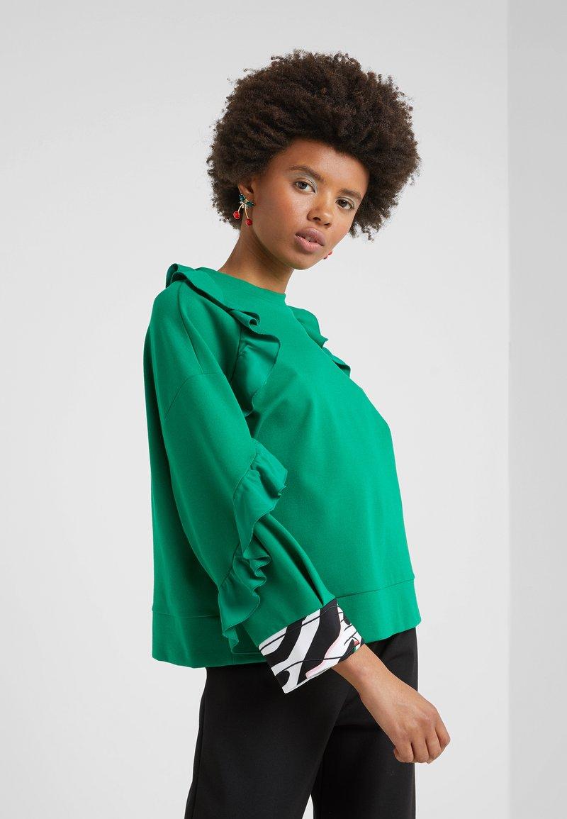 Vivetta - FELPA - Sweatshirts - verde mela