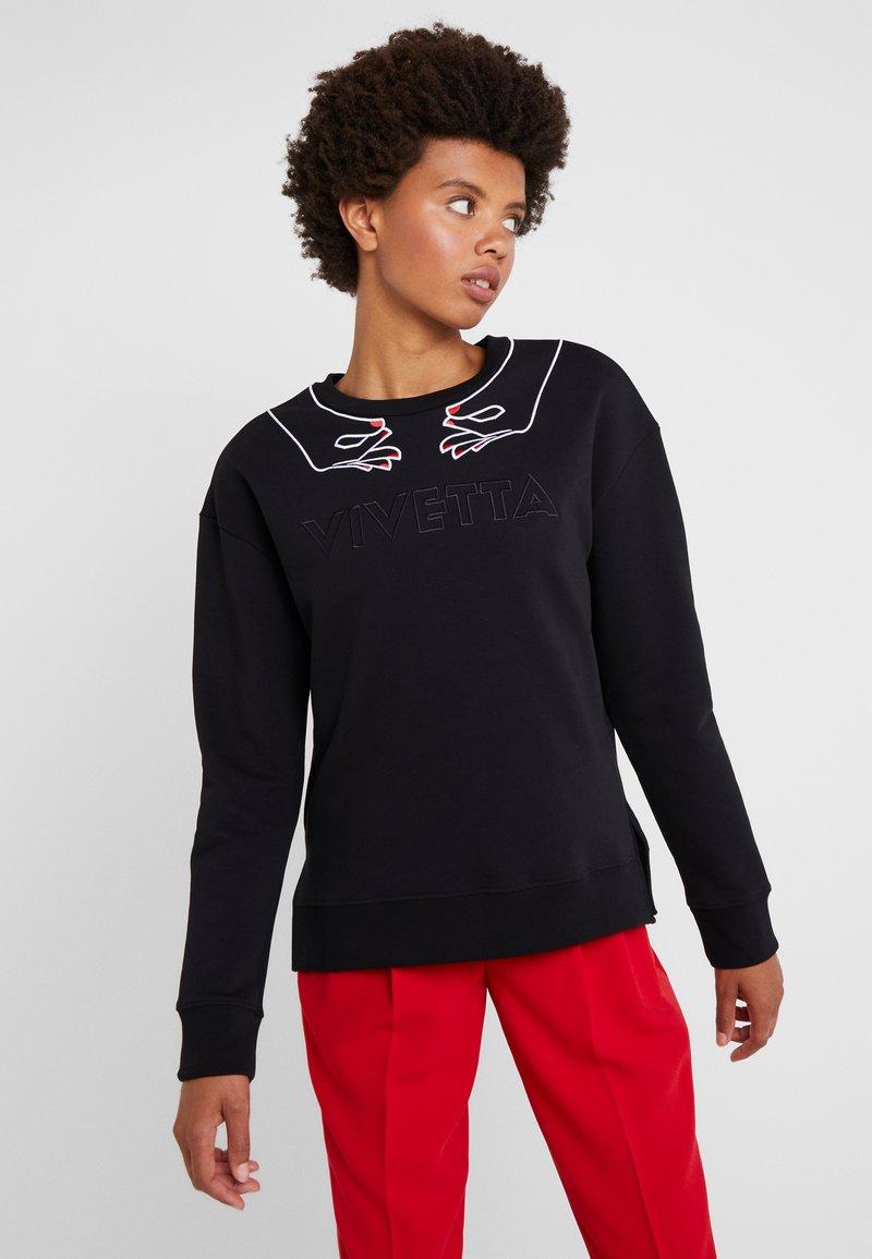 Vivetta - FELPA - Sweatshirt - black
