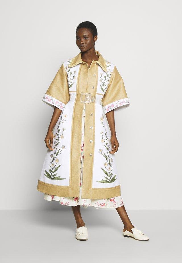 OUTERWEAR - Płaszcz wełniany /Płaszcz klasyczny - unito beige/bianco