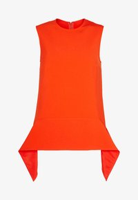 Victoria Victoria Beckham - DRAPE DETAIL SHELL - Blouse - flame red - 4