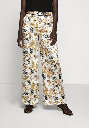 PYJAMA TROUSER - Trousers - mustard