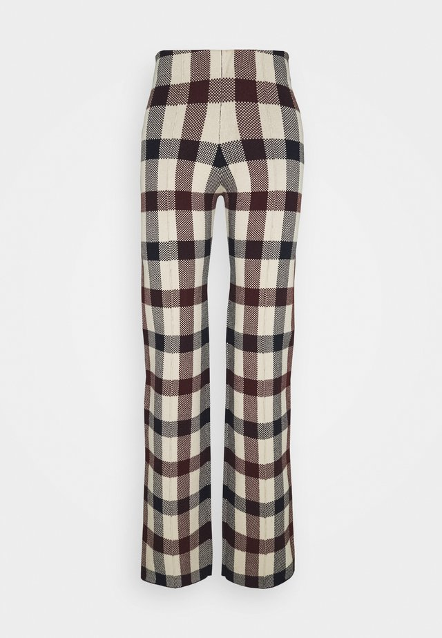 STRAIGHT TROUSER - Trousers - multi