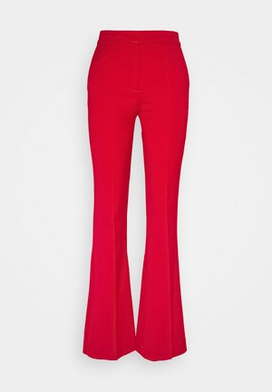 VICTORIA TROUSER - Stoffhose - postbox red