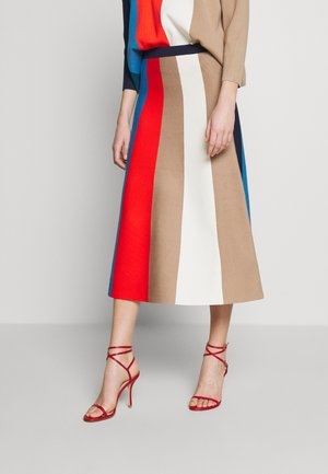 BLOCK STRIPE SKIRT - A-line skirt - multi-coloured