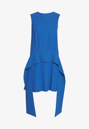 SCARF DRESS - Day dress - mid blue