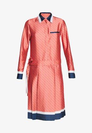 LOGO PLEATED SHIRT DRESS - Sukienka koszulowa - multi-coloured
