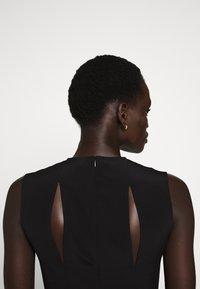 Victoria Victoria Beckham - SLIT DETAIL DRESS - Denní šaty - black - 3