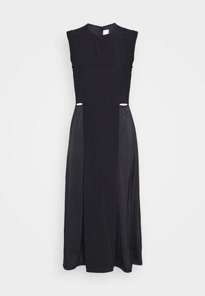 SLIT DETAIL DRESS - Day dress - black