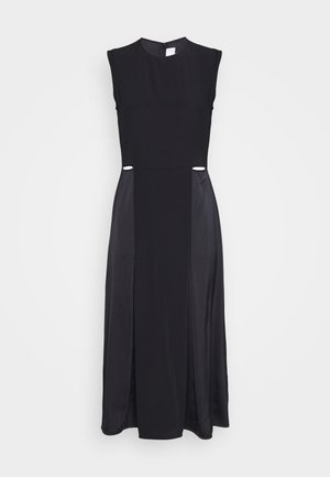 SLIT DETAIL DRESS - Etui-jurk - black