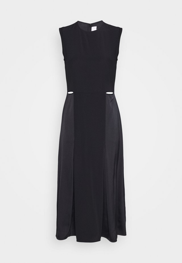SLIT DETAIL DRESS - Fodralklänning - black
