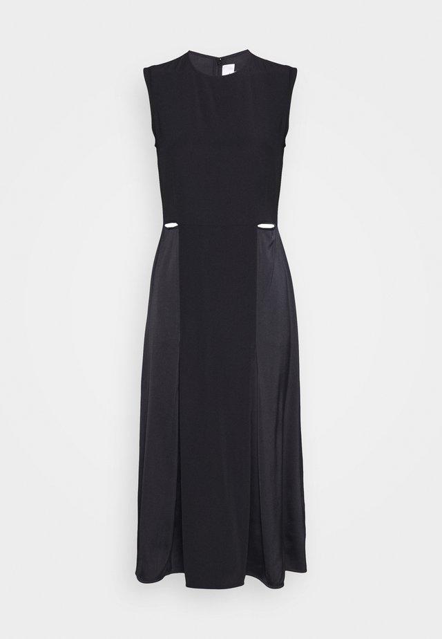 SLIT DETAIL DRESS - Sukienka etui - black