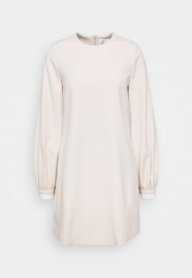 BELL SLEEVE SHIFT DRESS - Day dress - cream
