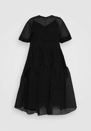 EXAGERATED DRESS - Vestito elegante - black