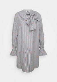 Victoria Victoria Beckham - TIE NECK DRESS - Denní šaty - grey - 6