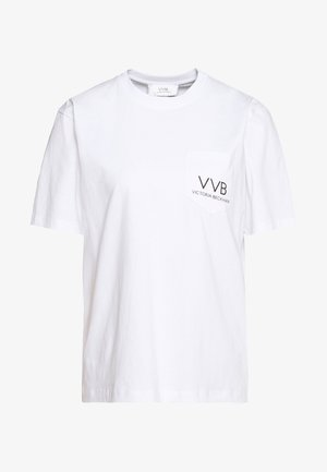 POCKET LOGO - T-shirts med print - white