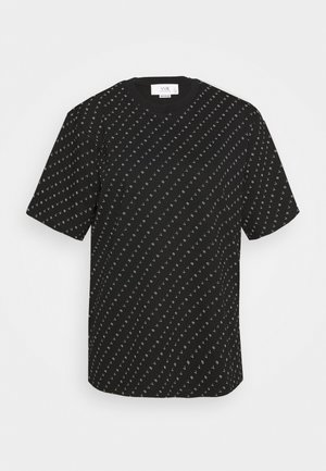 LOGO  - T-shirt print - black