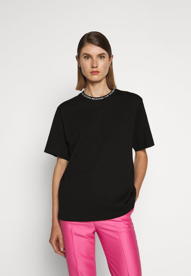 LOGO - T-shirts med print - black