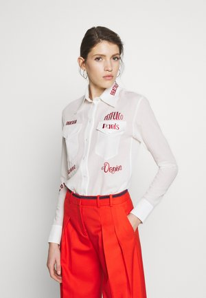CITY EMBROIDERED - Blus - white