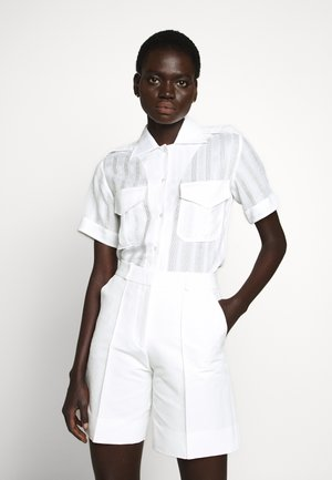 SHORT SLEEVE SHIRT - Camicia - white