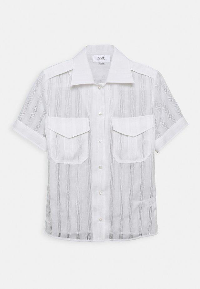 SHORT SLEEVE - Skjorte - white