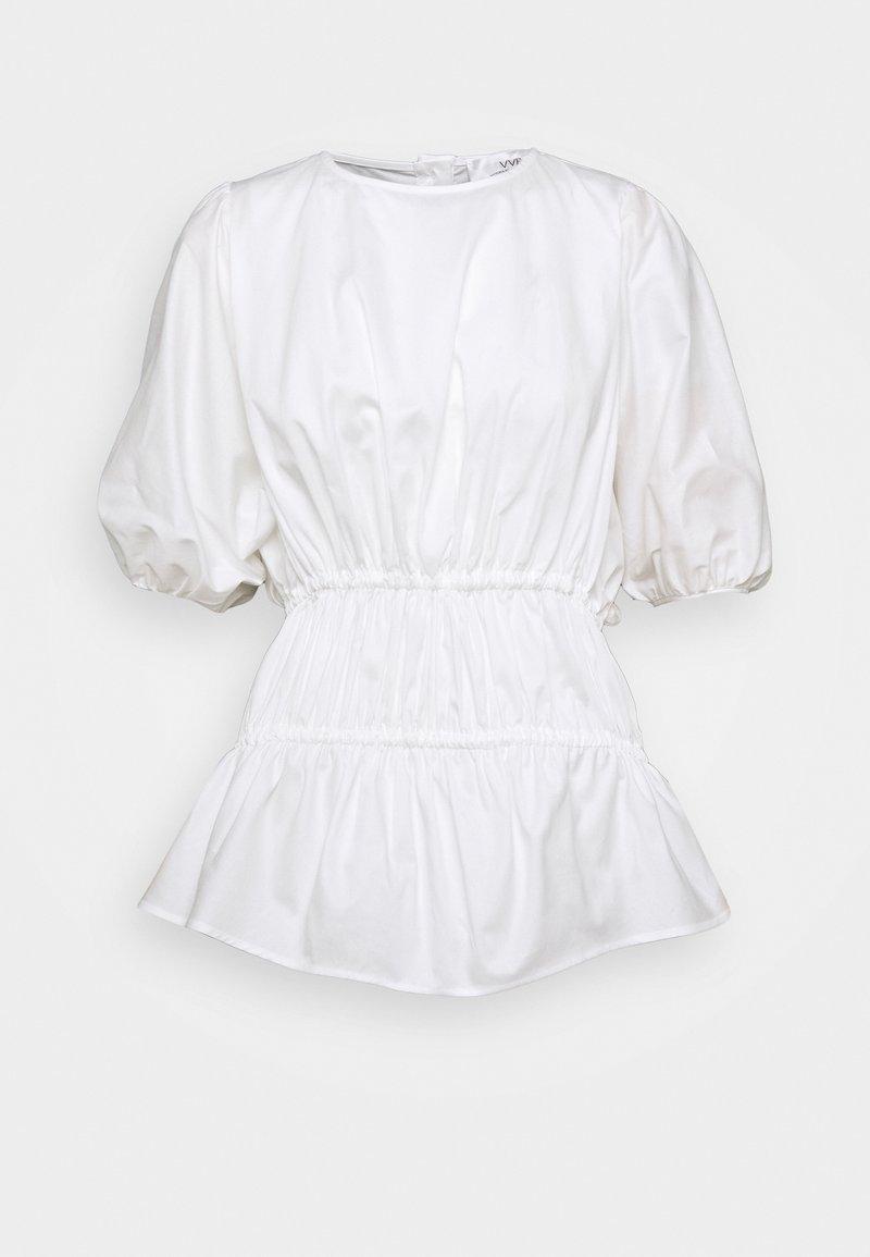 Victoria Victoria Beckham - GATHERED CACOON - Camicetta - white