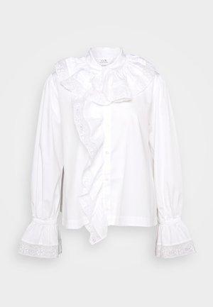 RUFFLE  - Bluzka - white