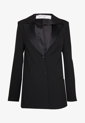 TUXEDO JACKET - Short coat - black