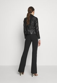 Victoria Victoria Beckham - BIKER JACKER - Leather jacket - black - 2