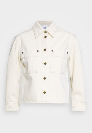 SLEEVE JACKET - Giacca di jeans - off-white