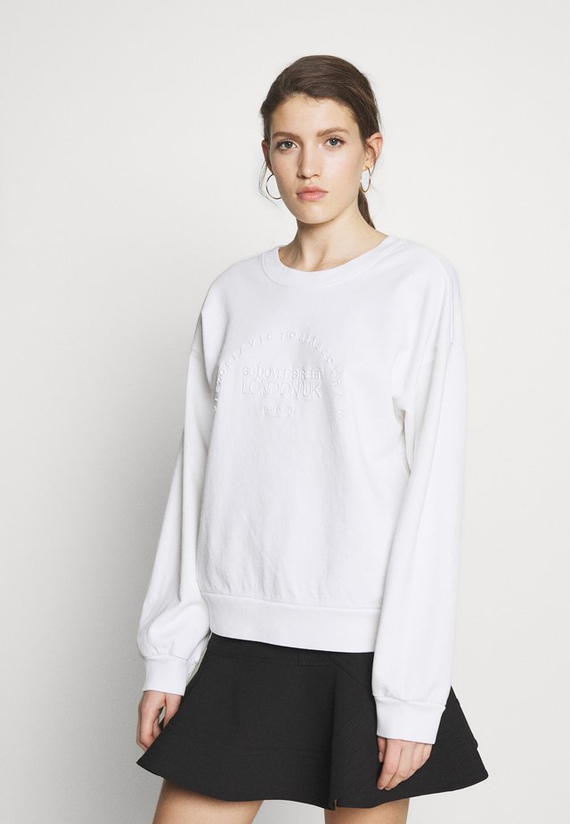 HERITAGE - Sweater - white