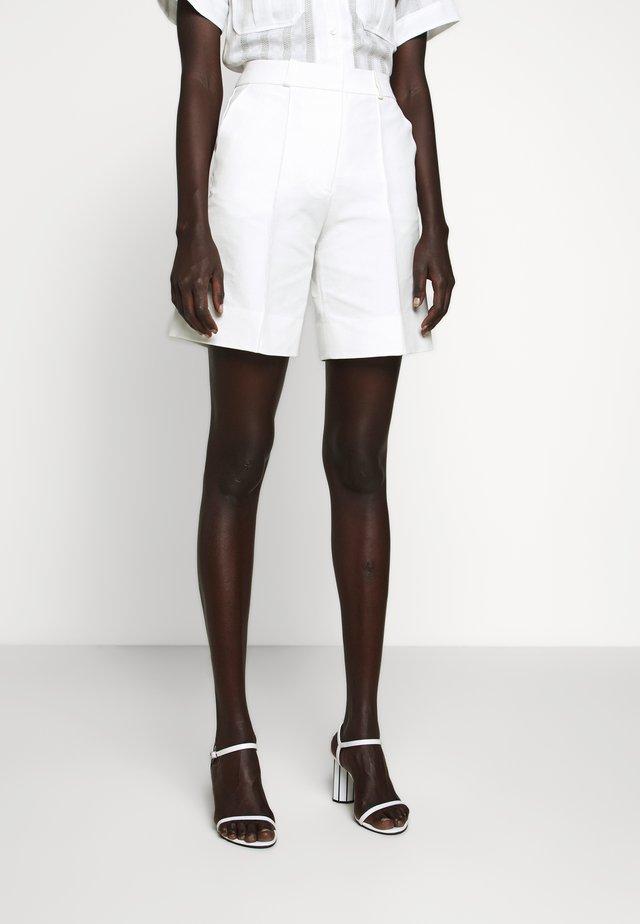 WIDE LEG - Shorts - white