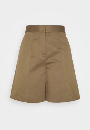 Shorts - fawn brown