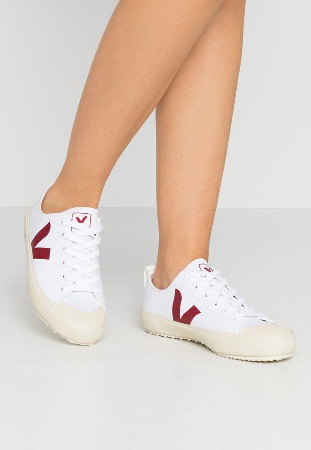 NOVA - Sneakers - white/marsala