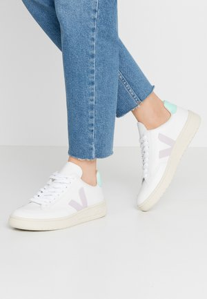 V-12 - Sneakers laag - extra white/parme/turquoise