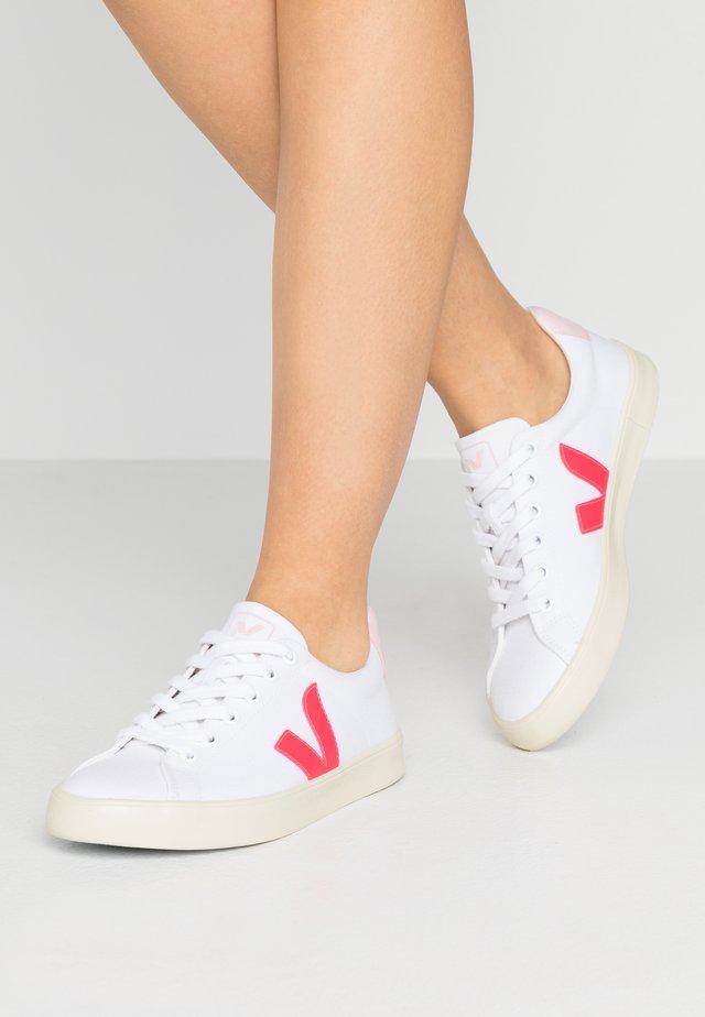 ESPLAR - Baskets basses - white/rose/fluo/petale