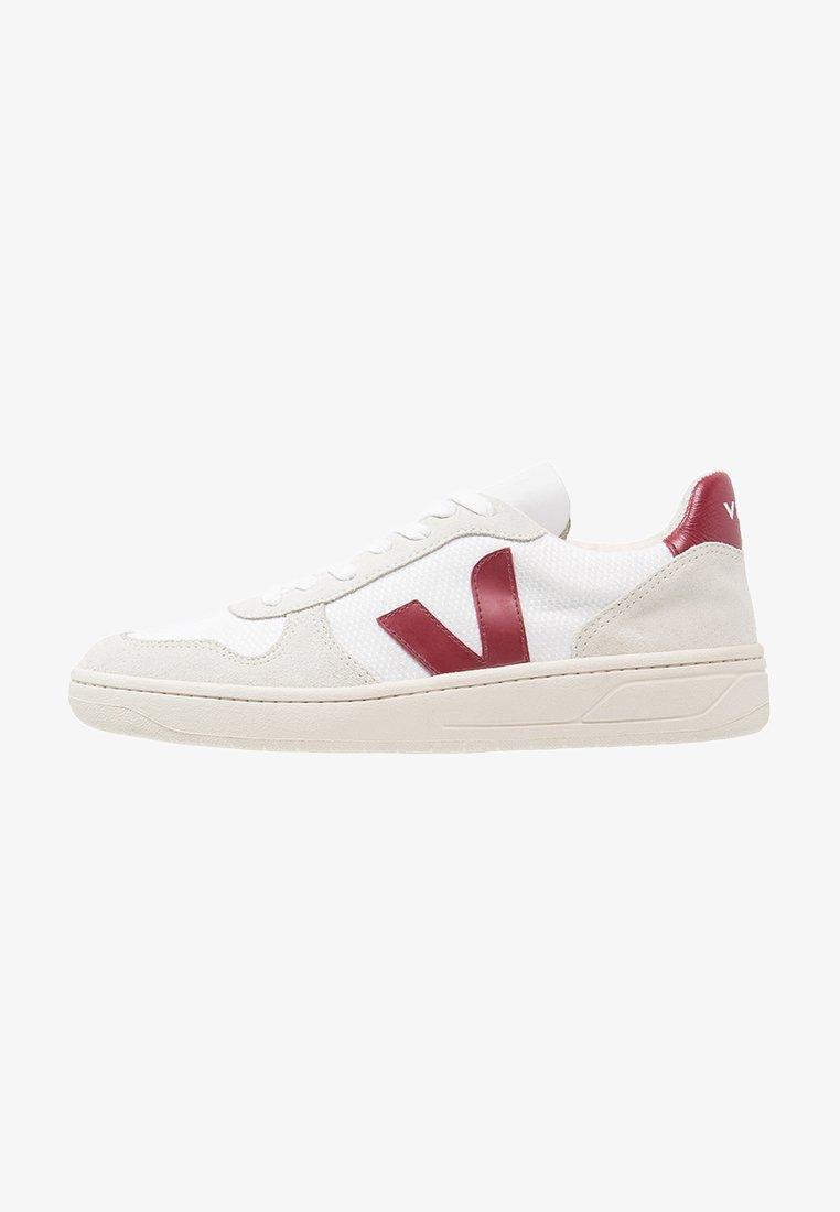 Veja - V-10  - Sneakers - white/marsala