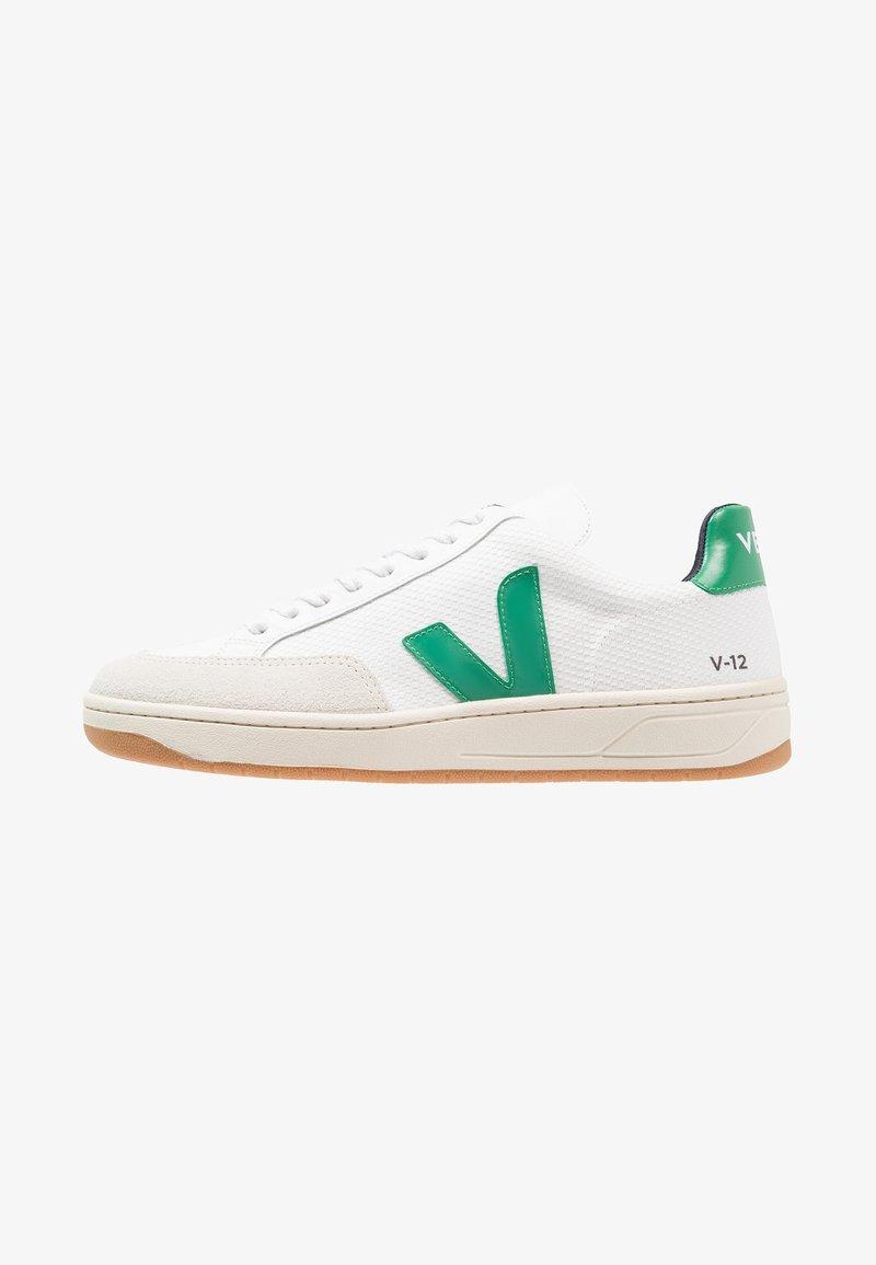 Veja - V-12  - Sneaker low - white/emeraude