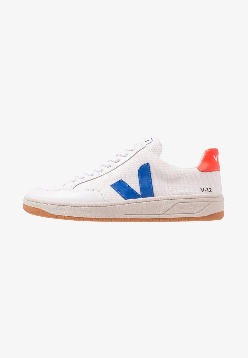 Veja - V-12 - Baskets basses - white/indigo/orange/fluo