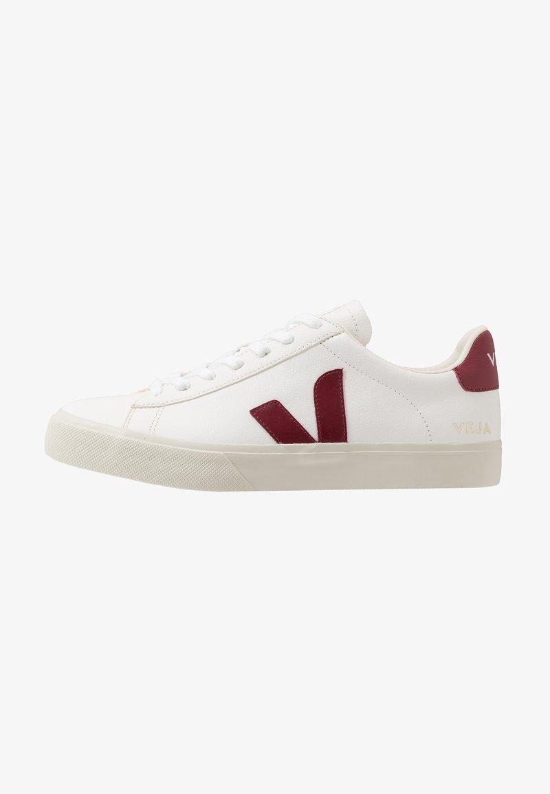 Veja - CAMPO - Sneakers laag - white/marsala