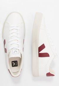 Veja - CAMPO - Sneakers laag - white/marsala - 1
