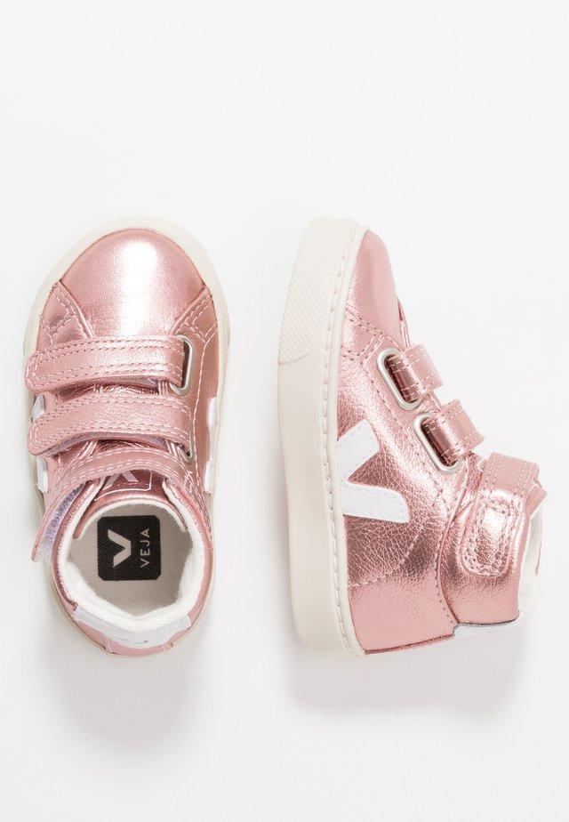 ESPLAR MID SMALL  - Sneaker high - nacre pierre