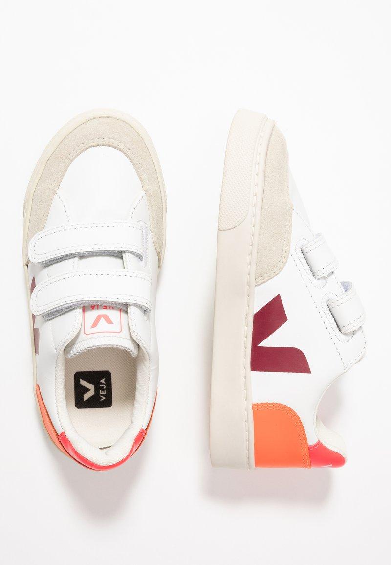 Veja - V-12 - Sneakers laag - extra white/multicolor/marsala