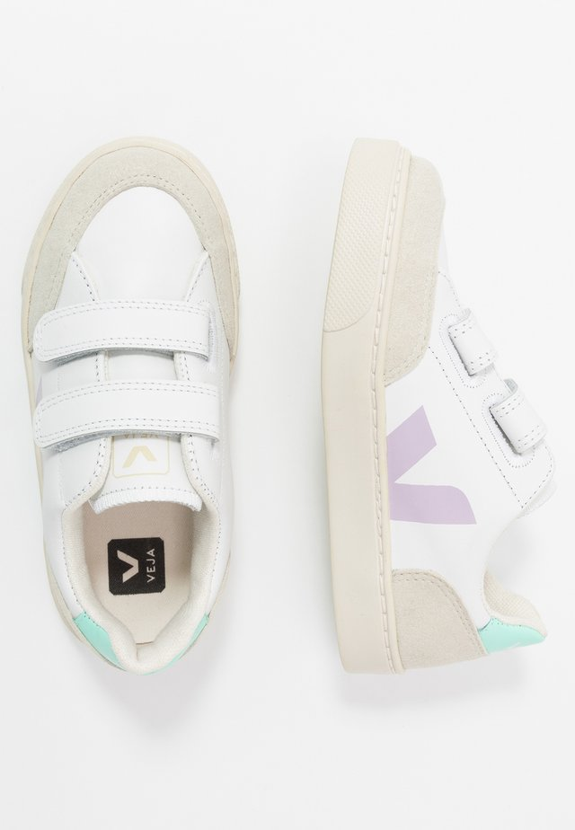 SMALL - Sneaker low - extra white/turquoise