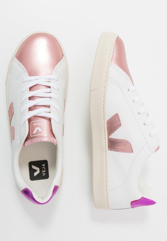 SMALL ESPLAR LACE - Sneakers - extra white/nacre/fushia