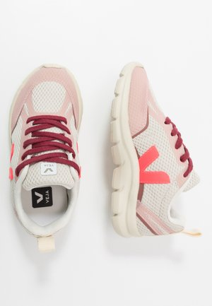 SMALL-CANARY - Sneaker low - natural/rose fluo/dried petal