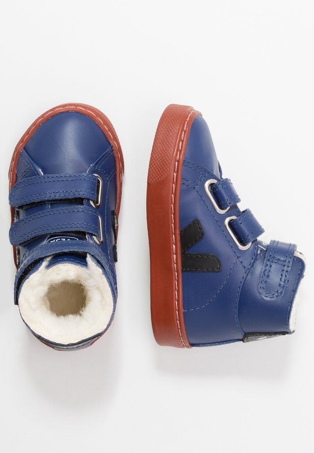 SMALL ESPLAR MID - High-top trainers - cobalt/black/rust