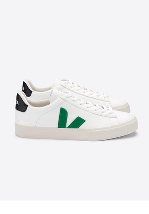 CAMPO CHROMEFREE LEATHER EXTRA-WHITE_EMERAUDE_BLACK - Trainers - white/green/black